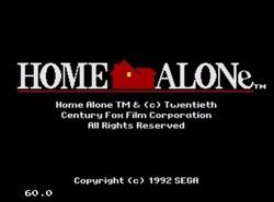 دانلود بازی تنها در خانه سگا home alone-sega