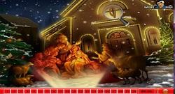 دانلود بازی فلش اینترنتی پیدا کردن اعداد در عکس کریسمس-مرحله ای