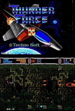 دانلود بازی جت-موشک سگا sega-thunder force-برای کامپیوتر
