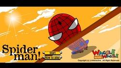 دانلود بازی فلش اینترنتی رایگان پرش اسپایدرمن-spiderman-کم حجم