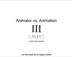 دانلود فلش انیمیشن خنده دار و بامزه 3 animator_vs_animation