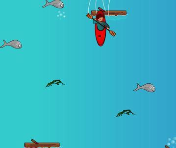 بازی آنلاین کم حجم وسرگرم کننده ماهيگيري در رودخانه
