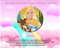 دانلود بازی فلش اینترنتی رایگان دخترانه پازل باربی