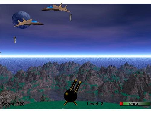 بازی فلش آنلاین ضد هوایی
