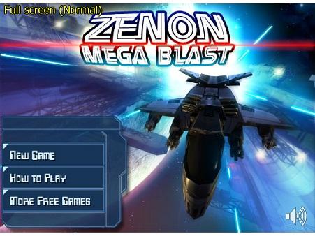 بازی فلش آنلاین سفینه فضایی-zenon